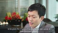 VIDEO: Why the new Chinese owner of West Bromwich Albion thinks 'it was meant to be'