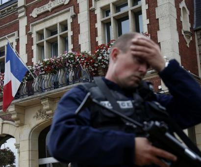 France: 2 terrorists, 1 hostage killed in IS-claimed church attack