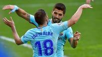 La Liga: Jordi Alba, Luis Suarez kick Barcelona to winning ways