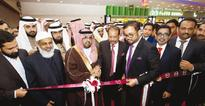 Malabar Gold opens its 145th outlet in Dammam Prince Saud bin Abdulla bin Abdul Aziz and Yusuff Ali MA, Managing Director ...