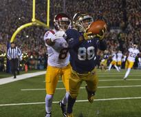 David Robinson's son, Notre Dame's top WR, elected student-body president