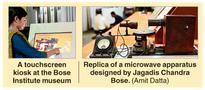Digital boost for Bose Institute museum