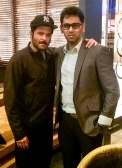 Spotted: Anil Kapoor in Dubai