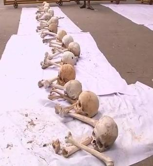 TN farmers' protests: Skulls, femur bones reappear at Jantar Mantar