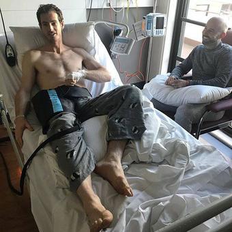 Murray undergoes hip surgery, hopes for Wimbledon return