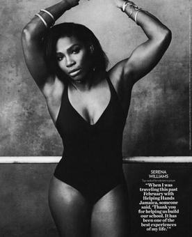 Serena deletes airbrushed Instagram photo after being slammed