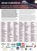 Bruce Springsteen and Bruno Mars join anti-DMCA crusade