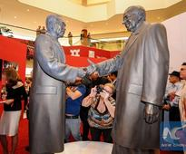 Exhibition on Nixon's China trip unveiled in Southern California
