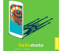 Lenovo Sends Out MWC 2017 Invites; Moto G5, Moto G5 Plus Launch Likely