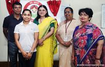 Maneka Gandhi sends off Dipa Karmakar, the first woman gymnast to represent India at Rio Olympics