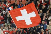 Man with knife, flammable liquid injures 6 on ... REPRESENTATIVE IMAGE: A Swiss flag at the Euro 2016 qualifier between Switze...