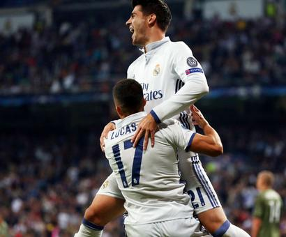 Champions League PIX: Five-star Real hammer Warsaw; Spurs held