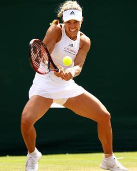 Wimbledon Pix: Kerber, Muguruza, Dimitrov advance into fourth round