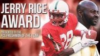Six join Jerry Rice Award Watch List (Yahoo Sports)