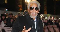 Morgan Freeman in crash-landing drama at US airport