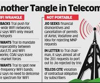 Jio seeks action against major telcos for violating MNP and WiFi rules