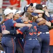 Tested Auburn Tigers and youthful Oklahoma Sooners advance to Women's College World Series semifinals