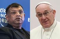 Tony Fernandes meets Pope Francis
