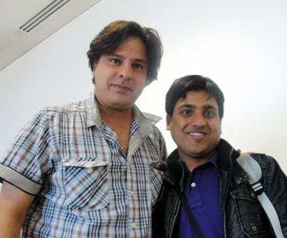 Spotted: Rahul Roy at Hong Kong airport