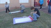 Future TSTC students in Sweetwater decorate high school tiles