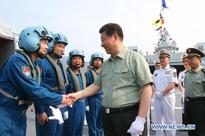 President Xi calls for strengthened navy