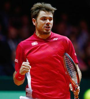 Davis Cup: Wawrinka wins opener, Monfils helps France draw level