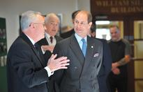 Earl of Wessex continues as RUAS patron