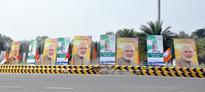 Poster war in Odisha ahead of PM's visit, Odia Bhasa Swabhiman Mancha remove posters