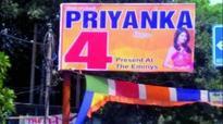 Dusu polls: Uproar over Priyanka Chopra pic in ABVP hoardings