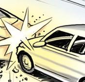 Car-bus collision near Jalandhar kills newlyweds