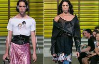 Transgender models shine at Paris fashion show