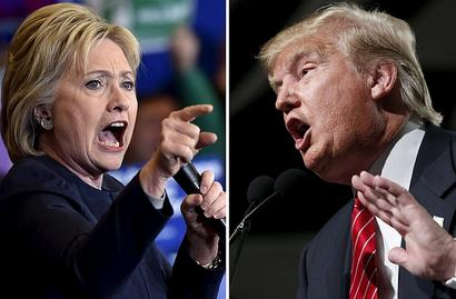 Clinton, Trump nearly even two months out: polls
