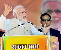 SP-Cong 'saath' will shatter dreams of UP: Narendra Modi