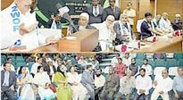 Dy. CM gives away awards to Zaheeruddin Ali Khan & others