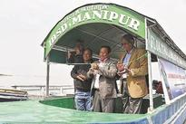 Floating research laboratory launched to analyse Loktak lake
