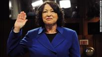 Sotomayor in post-election appearance: 'We can't afford to despair'