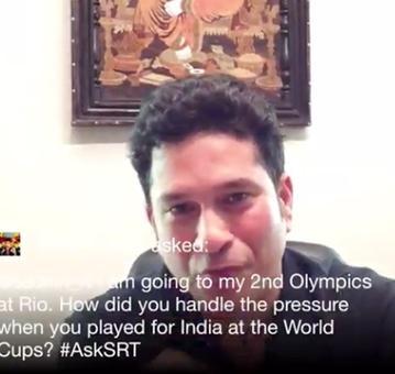 Sachin Tendulkar's words of encouragement for Rio-bound boxer