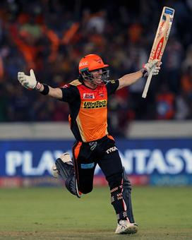 Warner's stock continues to rise as IPL play-offs loom