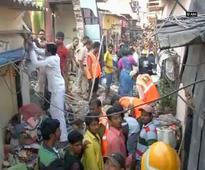 Building collapses in Mumbai's Mankhurd area