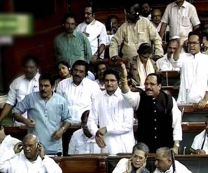 Uproar in Lok Sabha over Kashmir unrest; government attacked