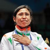 Bronze hangs like albatross around Sarita Devi's neck