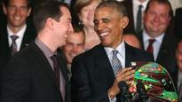 Obama wants a spin in Kyle Busch's car