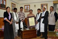 Forest Minister hands UNESCO Site Heritage Certification to CM