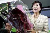 JAPÓN ELECCIONES - La nueva gobernadora de Tokio aboga por traer transparencia a la capital