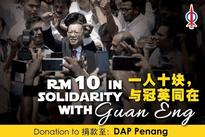 Questions about donation campaign for Guan Eng