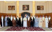 HM the King receives Kanoo family members
