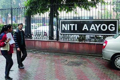 Rajiv Kumar takes charge of Niti Aayog
