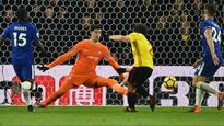 Premier League: Thibaut Courtois backs Chelsea manager Antonio Conte after Watford defeat