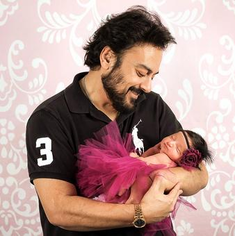 Meet Adnan Sami's adorable daughter