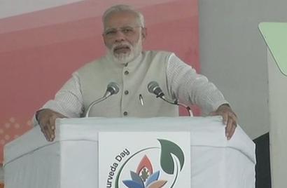 Time for a 'health revolution' under the aegis of Ayurveda: Modi